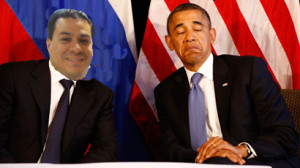 What it may have looked like if Eric met with Obama to discuss his El Salvador connections.