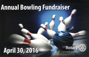 Bowling Post Card Front